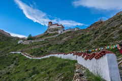 Yumbu Lha Khang Palace Stock Photography