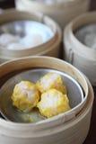 Yumcha , dim sum in bamboo steamer Stock Photo