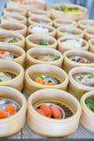 Yumcha or Dim sum, Chinese cuisine style steam food Stock Photo