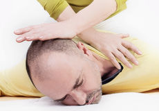 Yumeiho massage therapy Royalty Free Stock Photos