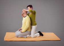 Yumeiho massage therapy Stock Photos