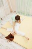 Yumeiho terapia nad widok Zdjęcie Stock