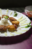 Yummiez-Hühnernuggets Stockfoto