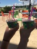 Yummy😎. Frozen Yogurt :)) Delicious :)) The Bay Stock Photos