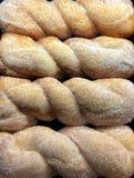Yummy Świeży Cukrowy skręt Donits Obrazy Stock