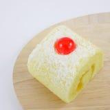 Yummy ρόλος μαρμελάδας φρούτων Στοκ Εικόνες