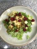 Yummy σπιτική σαλάτα στοκ φωτογραφία με δικαίωμα ελεύθερης χρήσης