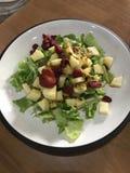 Yummy σπιτική σαλάτα στοκ εικόνες