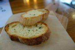 Yummy ψωμί σκόρδου στοκ φωτογραφίες