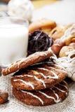 Yummy печенья шоколада стоковое фото rf