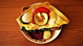 Yummy сандвич Стоковые Изображения RF