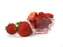 Yummy aardbeien Royalty-vrije Stock Fotografie