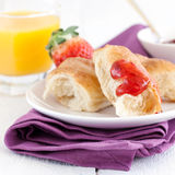 Yummy breakfast Royalty Free Stock Images
