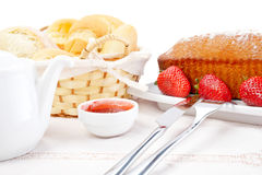 Yummy breakfast Royalty Free Stock Photography