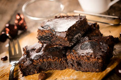 Yummy brownies Royalty Free Stock Image