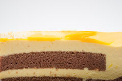 Yummy cake close up Stock Photo