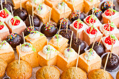 Yummy Cakes Royalty Free Stock Images