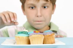 Yummy Cakes Royalty Free Stock Photography