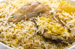 Yummy chicken biriyani Royalty Free Stock Photo