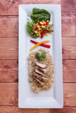 Yummy chicken and rice dish. Stock Images