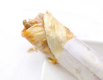 Yummy chicken roll It is a street food royalty free stock photos