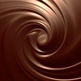 Yummy choco swirl Stock Photo
