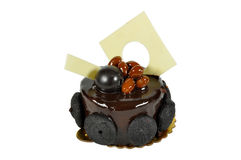 Yummy chocolate cake. Prepared for special occasions, delicious and beautiful cake Stock Images