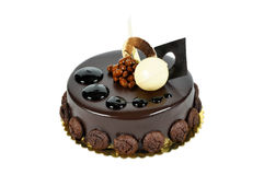 Yummy chocolate cake. Prepared for special occasions, delicious and beautiful cake Stock Image
