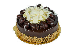 Yummy chocolate cake. Prepared for special occasions, delicious and beautiful chocolate cake Royalty Free Stock Photos