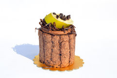 Yummy chocolate cake. Prepared for special occasions, delicious and beautiful cake Stock Photos