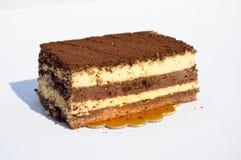 Yummy chocolate cake tiramisu. Prepared for special occasions, delicious and beautiful cake tiramisu Royalty Free Stock Photography