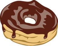 Yummy chocolate donut Stock Photos