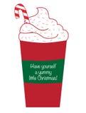Yummy Christmas Coffee Stock Image