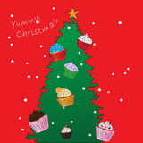 Yummy Christmas Royalty Free Stock Photos
