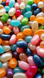 Yummy colorful jellybeans Royalty Free Stock Images