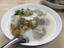 Yummy Congee!! Stock Afbeelding