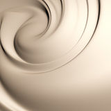 Yummy creamy swirl Royalty Free Stock Images