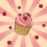Yummy Cupcake Royalty Free Stock Photos