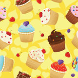 Yummy cupcakes Royalty Free Stock Image