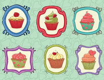 Yummy Cupcakes! Stock Photo