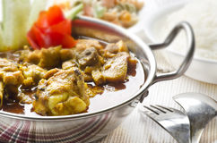 Yummy delicious chicken curry Royalty Free Stock Photo