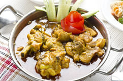 Yummy delicious chicken curry Royalty Free Stock Image