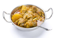 Yummy delicious mouthwatering mutton curry Stock Photos