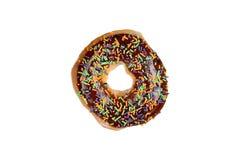 Yummy Donuts на белизне Стоковые Фотографии RF
