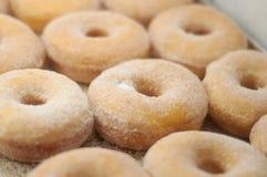 Yummy donuts bij een bakkerij Royalty-vrije Stock Foto