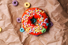 Yummy donuts Royalty Free Stock Photos