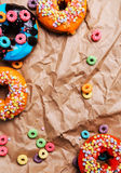 Yummy donuts Stock Image