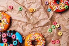 Yummy donuts Royalty Free Stock Photography