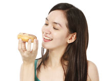 Yummy Doughnut Royalty Free Stock Images