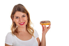 Yummy doughnut Stock Photos